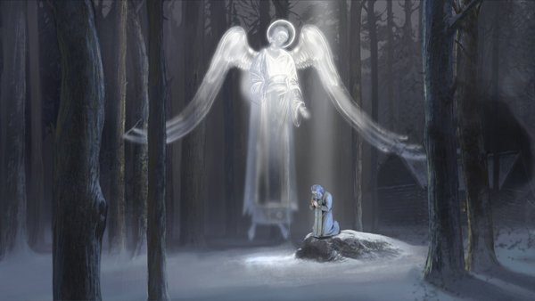 Кадр из мультфильма «Необыкновенное путешествие Серафимы»