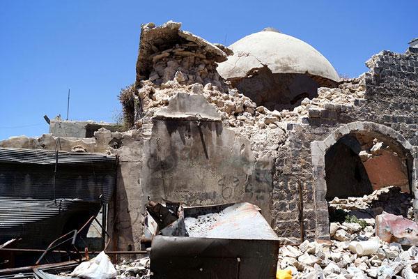 Хомс. Древние мусульманские бани — хаммам