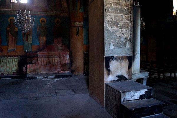 Хомс. Церковь св. Элиана, в которой находятся уникальные для ближневосточного региона фрески