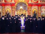 Монашеский постриг в Мгарском монастыре