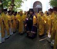 Мощи Иоасафа Белгородского в Мгарском монастыре