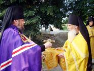 Литурия в Мгарском монастыре