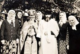 О. Феофан с духовными чадами