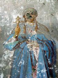 Расстрелянная икона св. Александры