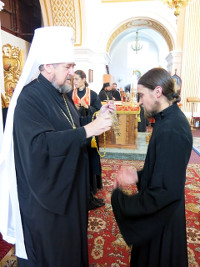 Награда насельнику Мгарского монастыря