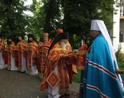 Празднование памяти преподобномучеников Мгарских
