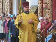 Архієрейське богослужіння в Мгарській обителі