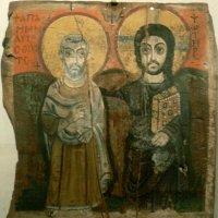 Христос и св.Мина. VI век. Париж. Лувр