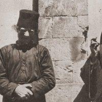 Преподобный Никифор (слева) и его духовник, преподобный Анфим