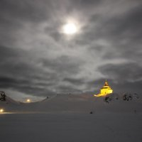 Горящая лампада в Антарктике
