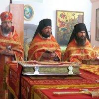 Архиерейское богослужение в Мгарской обители