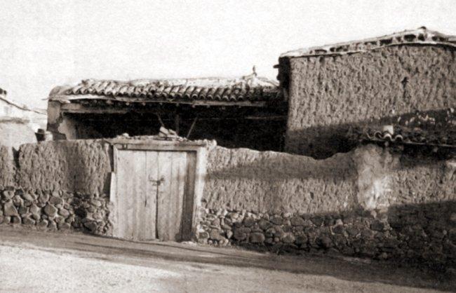 Внешний вид дома, где жила семья