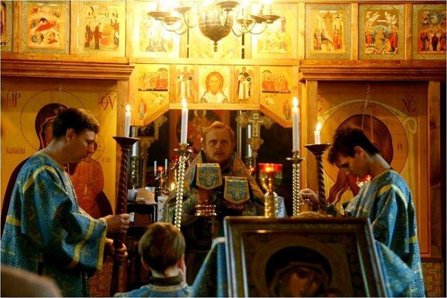 Богослужение в приходе Тронхейма