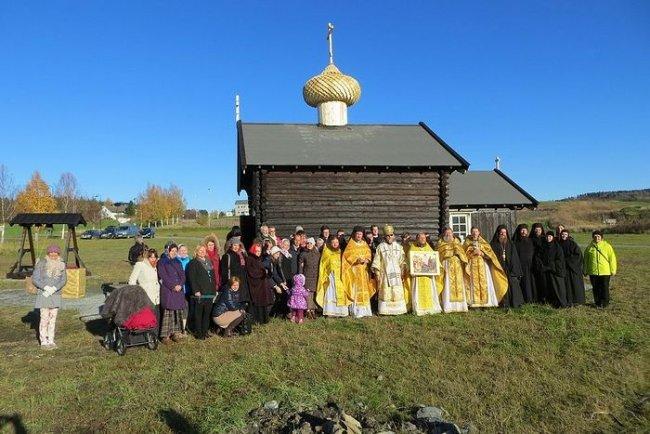 Храм святого Олафа Норвежского в Стиклестаде