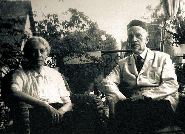 Н.Н. Ильина и И.А. Ильин. Цюрих, 1954 г.