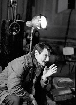 Андрей Тарковский на съёмках кинофильма «Андрей Рублев»