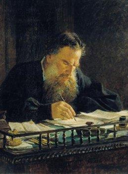 Портрет Льва Николаевича Толстого. 1884