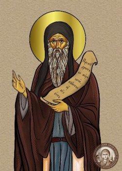 Икона афонского старца прп. Иоанна Вишенского Святогорца.