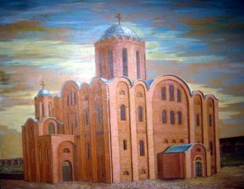 Михайловский собор 1089 г., реконструкция