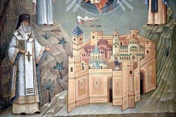 Роспись крипты русского Никольского храма