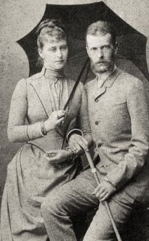 Великий князь Сергей Александрович и Великая княгиня Елизавета Федоровна. 1884 г.