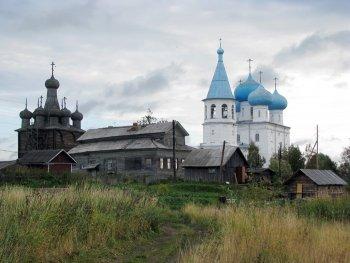 Русский Север. Погост Рикасово