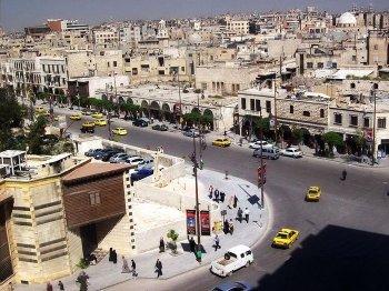 Старый христианский квартал Ждейде в Алеппо