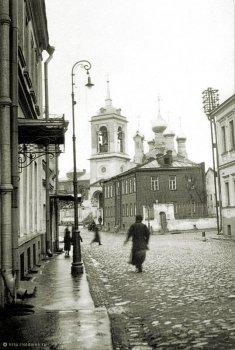 Храм Святителя Николая на Щепах (дореволюционное фото)