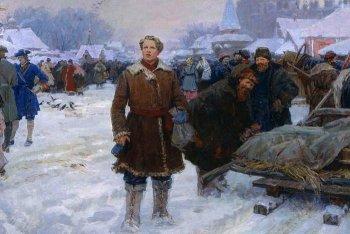 А.И. Васильев. Ломоносов в Москве