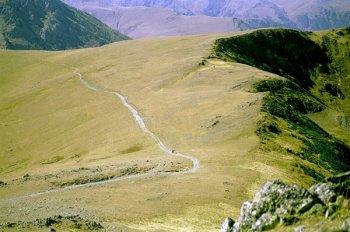 Древняя дорога из Нижнего Архыза в Византию сохранилась до сих пор