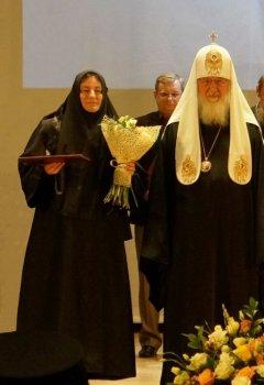 Монахиня Евфимия (Пащенко). Церемония награждения победителей