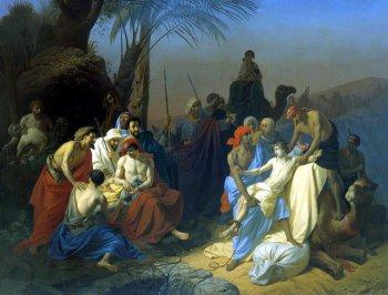 Константин Флавицкий. Продажа Иосифа в рабство