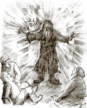 Христос в гостях у мужика