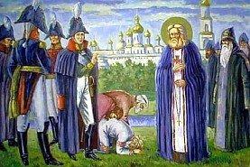 Александр I и прп. Серафим