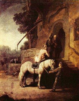 Добрый самарянин. Рембрандт