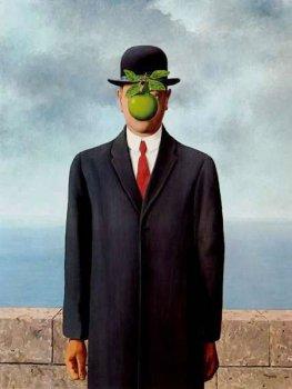 Рене Магритт. «Сын человеческий» (1964)