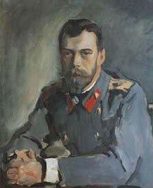 Портрет императора Николая II. Худ. В. Серов. 1900 г.