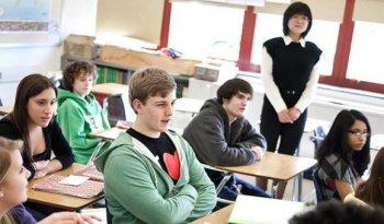 Ученики в американской школе
