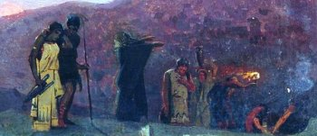Фрагмент картины Михаила Нестерова «Жены-мироносицы»