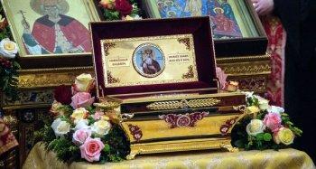 Мощи святого равноапостольного князя Владимира