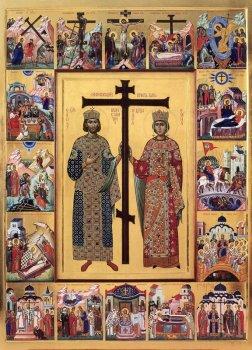 Обретение Честного Креста Господня