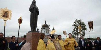 Памятник святителю Феофану Затворнику
