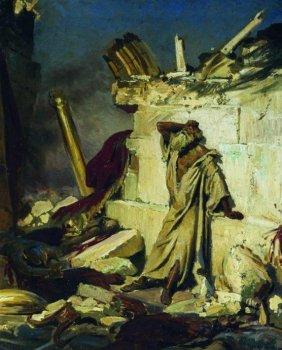 Илья Репин. Плач пророка Иеремии на развалинах Иерусалима
