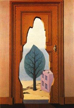 Дверь. Худ. Рене Магритт