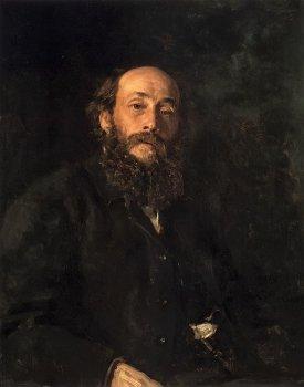 Портрет Николая Ге. И. Е. Репин. 1880