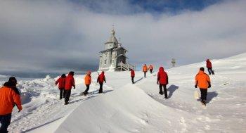 Храм Животворящей Троицы в Антарктиде