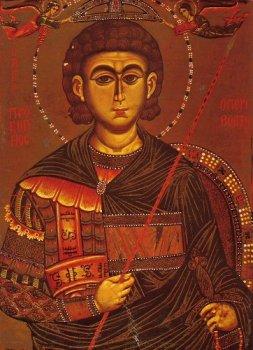 Великомученик Прокопий, Синай, 13 в.