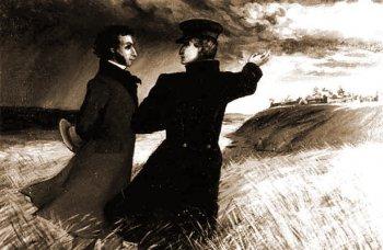 Александр Пушкин и Владимир Даль