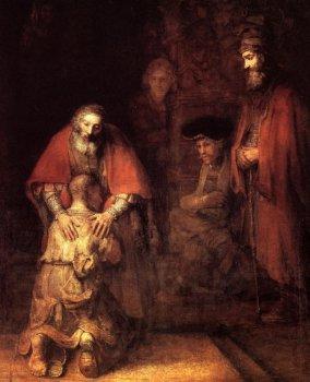 Рембрандт. Блудный сын