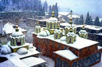 Русский православный монастырь на Афоне